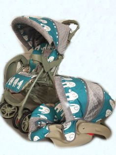 Welcome to Small Sprouts!-this listing is for the stroller cover only, you can order a matching car seat cover and other items to your order