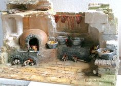 1 million+ Stunning Free Images to Use Anywhere Village Miniature, Miniture Dollhouse, Miniature Houses, Dollhouse Miniatures, Christmas Nativity Scene, Christmas Crafts, Nativity Scenes, Fontanini Nativity, Foam Carving