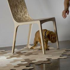 Puzzle Rug IMPERIAL - Designer furniture, modern furniture, contemporary furniture by Contraforma