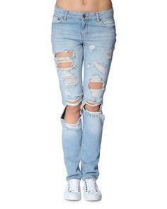 Noisy may 'Scarlet' jeans