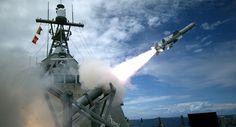 EUA realizam primeiro lançamento bem-sucedido do míssil Harpoon no Pacífico