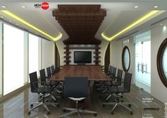 Remarkable Office Meeting Room Design With Cool Square