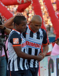 Rayados vs Toluca. 03 de Agosto. Dorlan Pabón y Humberto 'Chupete' Suazo