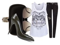 """""""Untitled #2546"""" by misnik ❤ liked on Polyvore featuring Alexander McQueen"""