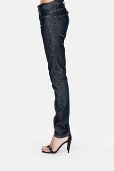6397 — Loose Skinny Jeans Selvage Rinse — THE LINE