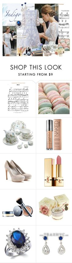 """""""Kate Middleton"""" by polyvorebr ❤ liked on Polyvore featuring Pink Mint, Nina Campbell, PATH, Urban Decay, Alexander McQueen, Illamasqua, Yves Saint Laurent, Lancôme, TokyoMilk and Fantasy Jewelry Box"""