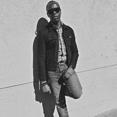 - A lone pair of watchful eyes -  Page 40.  Spiked Denim Jacket / @Asos Plaid Shirt / @UniqloUSA Bracelets / @Etsy & @HM  Band NATO / @Monowear.Design Skinny Distressed Jeans / @HM Beckett Sunglasses / @WarbyParker Time Piece / Space Black /  Watch Leather Urban Belt / @Gap