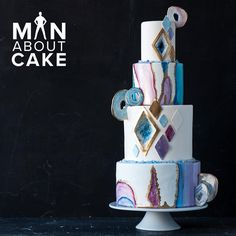 Love the geode cake? Join Joshua John Russell and Rachael Teufel as they make an amazing agate and amethyst cake in this Man About Cake epsiode!