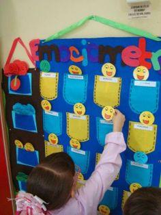 Rincones de Colores: PROYECTOS Emotions Preschool, Teaching Emotions, Preschool Crafts, Crafts For Kids, Kindergarten Games, Classroom Activities, Activities For Kids, Classroom Board, Classroom Decor