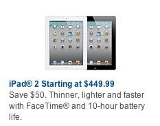 Best Buy Preparing for iPad Updates with $50 Price Cut, Inventory Cuts