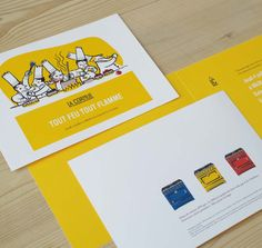 Agence Cécile Halley des Fontaines - Global design agency - La Cornue - high luxury cookers - invitation - print