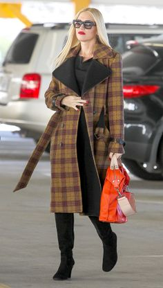 Wearing plaid never looked better, thanks to Gwen Stefani