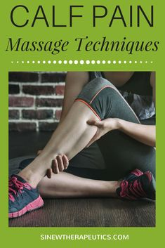 These massage techniques are of great value in calf pain relief; dispersing blood and fluid accumulations; and relaxing muscle spasms, especially when used alongside the Sinew Therapeutics liniments and soaks. Calf Muscle Spasm, Sore Muscle Relief, Muscle Spasms, Sore Calves, Sore Legs, Pulled Muscle In Leg, Calf Pain, Leg Pain, Amor