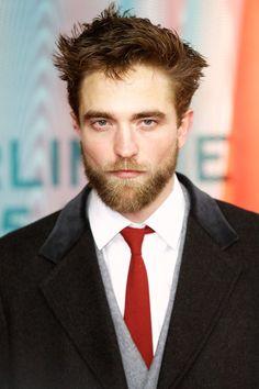 Robert Pattinson ...Not anymore. Pattinson showcased his new beard at the Berlin Film Festival
