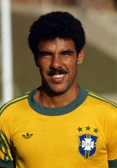 Toninho Cerezo, Brazil Brazil Football Team, God Of Football, Best Football Players, Retro Football, World Football, Soccer World, Vintage Football, Sport Football, Football Cards