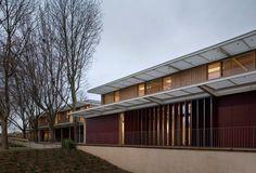 Jean Carrière Nursery School / Tectoniques Architects