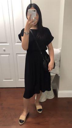 Ann Taylor Tie Back Flare Dress, size XXSP