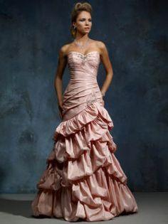 pink wedding dress Mia Solano