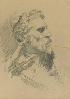 View Portrait of Laurence Peter Alexander Harrison, Esq. by John Singer Sargent on artnet. Browse upcoming and past auction lots by John Singer Sargent. Life Drawing, Figure Drawing, Drawing Sketches, Painting & Drawing, Art Drawings, Sketching, Art Du Croquis, L'art Du Portrait, John Singer Sargent