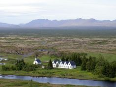 Thingvellir, Iceland - Parliament started here in 930 and lasted until 1798.