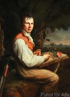 Georg Friedrich Weitsch - Bildnis Alexander von Humboldt