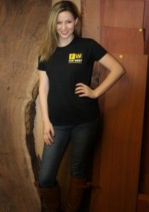 Far West T-Shirts are in... be sure to get yours in time for Christmas... Order online at www.farwestforest.com Alyssa Alger Far West T-Shirt