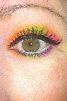 Rainbow Sherbert using the BH Cosmetics Take me to Brazil Palette
