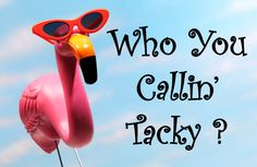 Who You Callin' Tacky?!  Pink Flamingo Happy Hour & Southern Pink Flamingo Cocktail Recipe! xxT