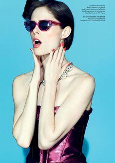 nice Glass Magazine   Editorial de Moda Primavera 2013   Coco Rocha por Jason Hetherington