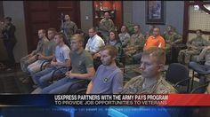 US Xpress Enterprises is partnering with the United States Army to guarantee job interviews for the sons and daughters of Chattanooga who join the U.S. Army Reserves, local Veterans and Soldiers wh...