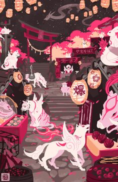 fenryk:  Okami - Festival for the Gods