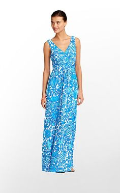 Sloane Dress in Shorely Blue Sailor's Valentine $198 (w/o 5/27/12) #fashion #lillypulitzer #style