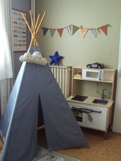 land of nod striped tent teepee pattern diy sewing nursery toddler room pinterest teepee. Black Bedroom Furniture Sets. Home Design Ideas
