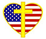 christian flag clipart
