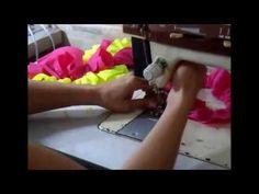 finalização do toper de biquini de amarra na frente - YouTube