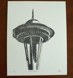 seattle letterpress art