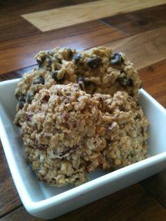 Biscuits moelleux à l'avoine et aux pépites de chocolat