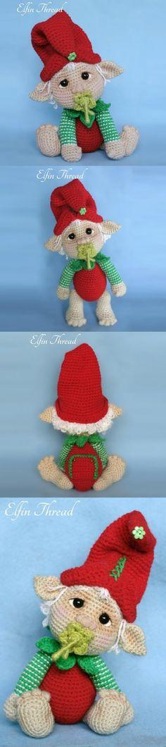 Gribin The Baby Elf Amigurumi Pattern