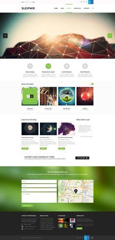 clean web design #interface