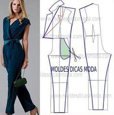 patron de blusas de moda - Buscar con Google