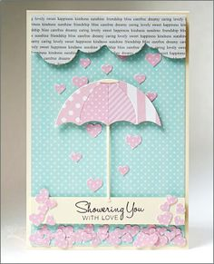 Baby or Wedding Shower Card for