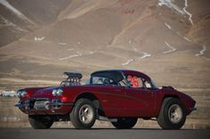 Big John Mazmanian's 1961 Corvette Gasser - Watched this one run back in the day at Irwindale -