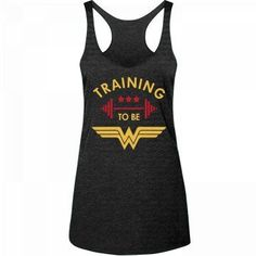 Wonder Woman Outfit, Wonder Woman Shirt, Wonder Woman Cosplay, Wonder Woman Clothes, Running Shirts, Workout Shirts, Workout Gear, Yoga Workouts, Workout Clothing