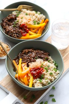 Start your week off right with thisInstant Pot Korean Beef Bowl recipe. Your family and friends will absolutely love this meal! It tastes fancy but only takes a couple hours to prepare this fall-off-the-bone shredded Korean beef with your Instant Pot.
