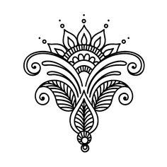 69 Ideas Tattoo Mandala Chest Henna Designs 69 Ideen Tattoo Mandala Brust Henna Designs This image has get Mandala Tattoo Design, Henna Tattoo Designs, Henna Tattoos, Mandala Drawing, Henna Designs Drawing, Maori Tattoos, Celtic Tattoos, Henna Kunst, Henna Art