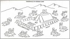 Tabernacle Coloring Page Free