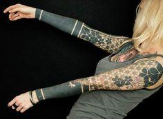 Geometric Tattoo by Gerhard Wiesbeck?