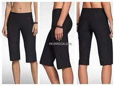 WOMEN'S SIZE LARGE NIKE LEGEND 2.0 SLIM FIT CAPRI LEGGINGS PANTS ...