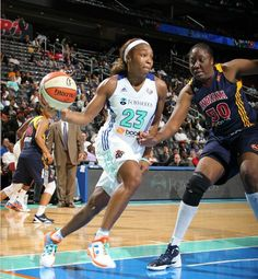 The New York Liberty break the win column and upset the Indiana Fever by doing so, winning 87-72 and leaving the Minnesota Lynx as the only undefeated team in the WNBA