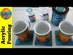 Comparing different finishes for ceramic tiles - Acrylic Pouring Resin Spray, Flow Painting, Pour Painting, Texture Painting, Acrylic Pouring Art, Acrylic Art, Diy Coasters, Alcohol Ink Art, Ceramic Painting